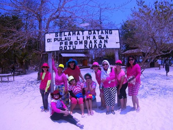 Wisata Pantai Pulau Lihaga